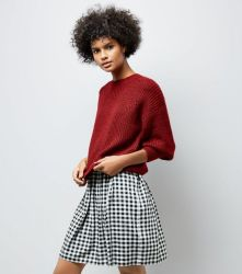 red-balloon-sleeve-ribbed-jumper